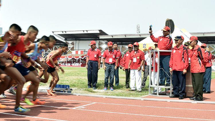 412 Atlet ikuti Kejurnas Atletik Piala Panglima TNI 2017. Copyright: © Badarudin Puspen TNI