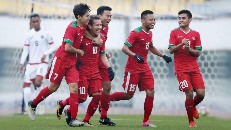 Timnas Indonesia U19  vs Timor-Leste U19 Copyright: © Twitter@pssi__fai