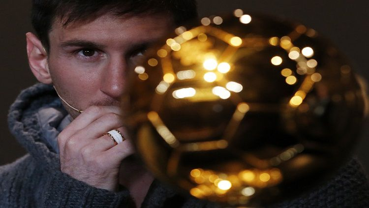 Indosport - Lionel Messi dan Ballon d'Or.