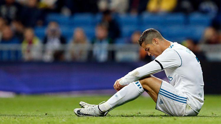Cristiano Ronaldo kembali gagal cetak gol saat lawan Las Palmas. Copyright: © INDOSPORT