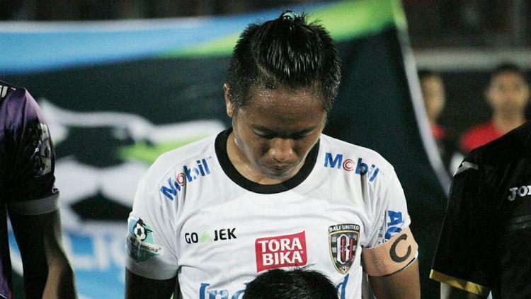 Gelandang Bali United, I Gede Sukadana. Copyright: © Twitter