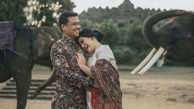 Kahiyang Ayu dan Bobby Nasution saat jalani prewedding. Copyright: © Instagram