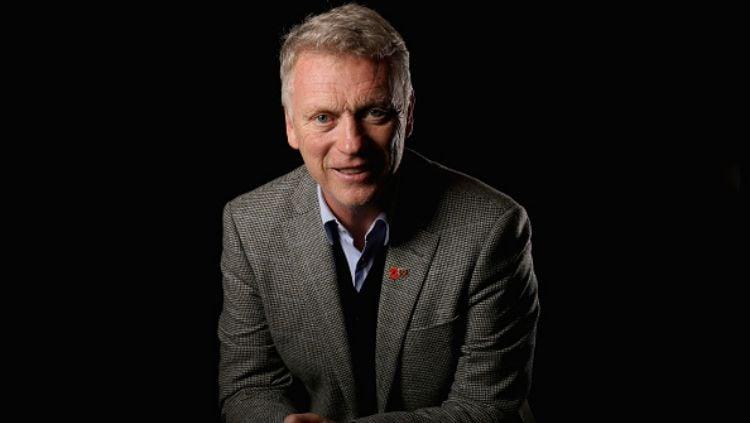 David Moyes, pelatih klub Liga Inggris, West Ham United. Copyright: © INDOSPORT