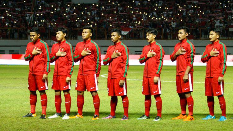Timnas Indonesia U-19 Copyright: © INDOSPORT/Abdurrahman.R