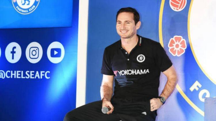 Frank Lampard, legenda Chelsea. Copyright: © INDOSPORT