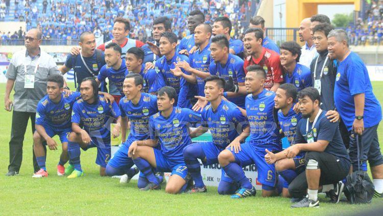 Skuat Persib Bandung. Copyright: © Arif Rahman/INDOSPORT