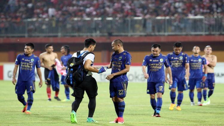 Persib usai pertandingan Copyright: © Pikiran Rakyat