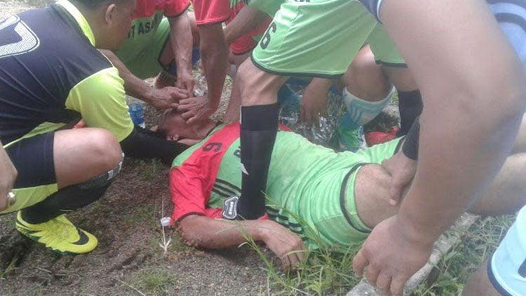 Monang Sianturi tewas dalam sebuah laga tarkam di Sumatera Selatan. Copyright: © KR Sumsel