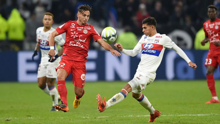 Olympique Lyonnais vs Montpellier. Copyright: © Getty Images