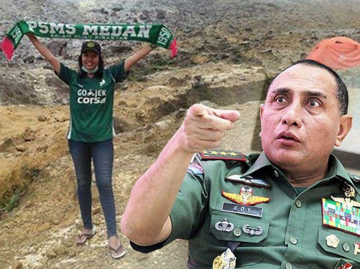 Edy Rahmayadi Maju Jadi Cagub Sumatera Utara, Fans Cantik PSMS Bereaksi