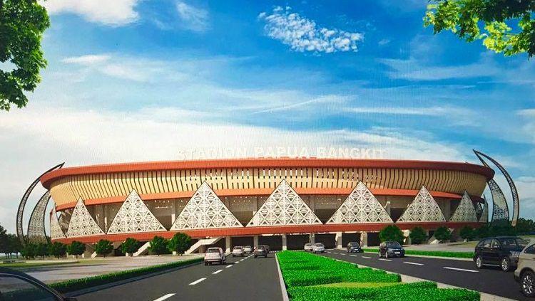 Gambaran Stadion Utama Papua Bangkit Copyright: © KONI Papua