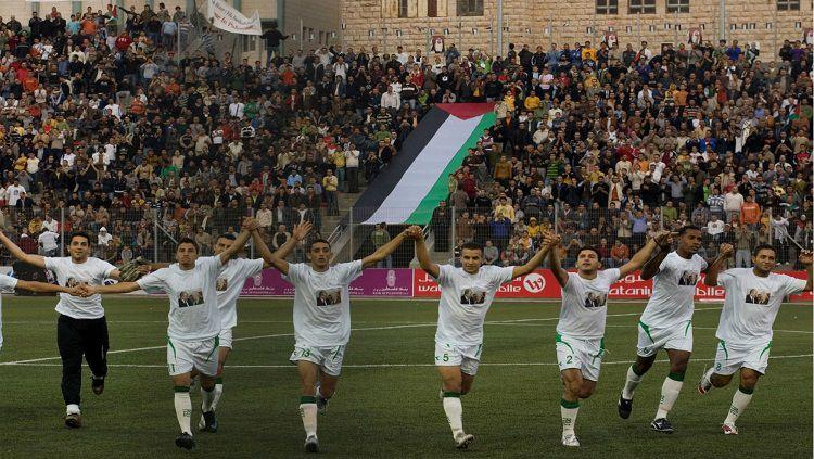 Timnas Palestina. Copyright: © AP