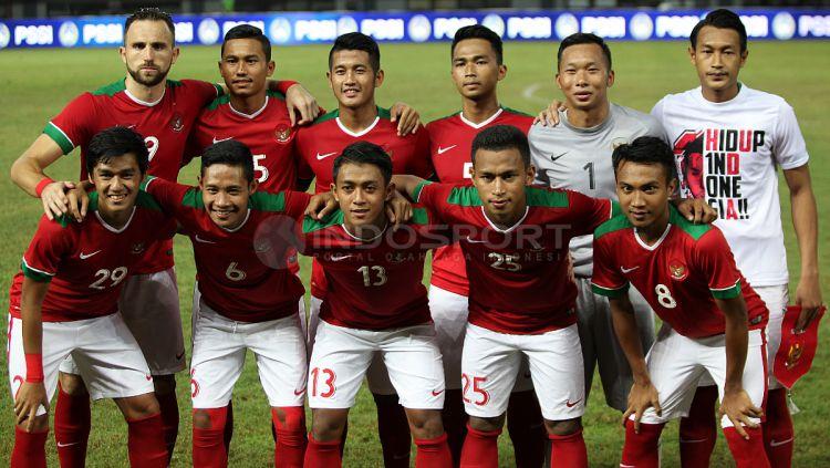 Indonesia versus Guyana Copyright: © INDOSPORT/Herry Ibrahim