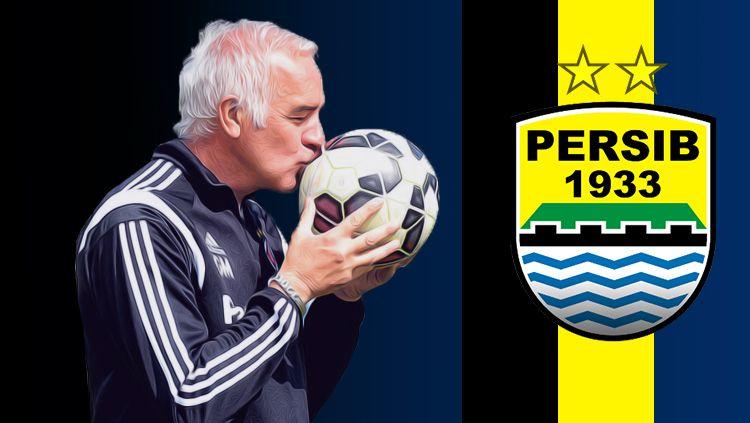 Roberto Carlos Mario Gomez pelatih baru Persib Bandung. Copyright: © Grafis: Eli Suhaeli/INDOSPORT