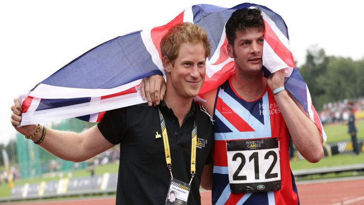 Pangeran Harry adalah penggagas Invictus Games. Copyright: © royal.uk