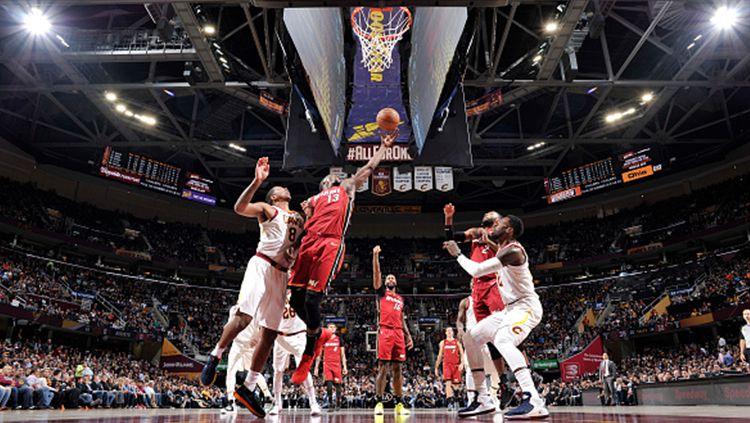Cleveland Cavaliers vs Miami Heat. Copyright: © INDOSPORT