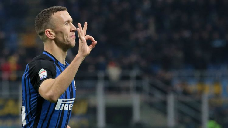 Ivan Perisic, pemain bintang Inter Milan. Copyright: © Getty Images