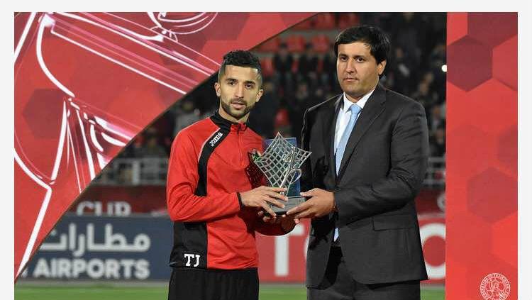 Manuchekhr Dzhalilov, pemain terbaik AFC yang gabung ke Sriwijaya Fc Copyright: © INDOSPORT