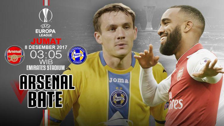 Prediksi Arsenal vs Bate. Copyright: © INDOSPORT