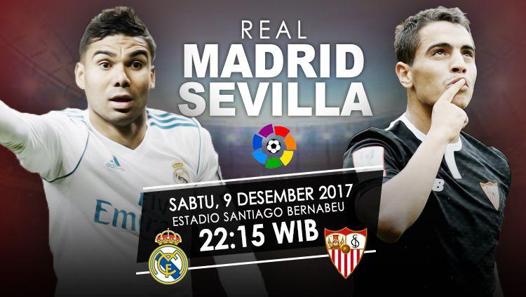 Prediksi Real Madrid vs Sevilla. Copyright: © Grafis: Eli Suhaeli/INDOSPORT