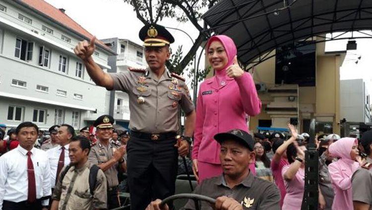 Kapolrestabes Surabaya Kombespol, Rudi Setiawan. Copyright: © news.realita.co