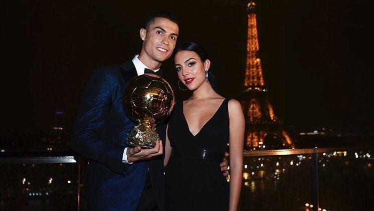 Cristiano Ronaldo dan kekasihnya Georgina Rodriguez. Copyright: © dailymail.co.uk