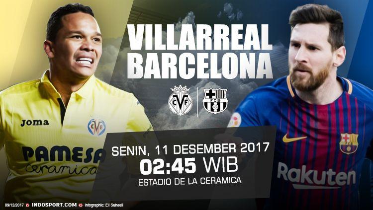 Prediksi Villarreal vs Barcelona. Copyright: © Grafis: Eli Suhaeli/INDOSPORT