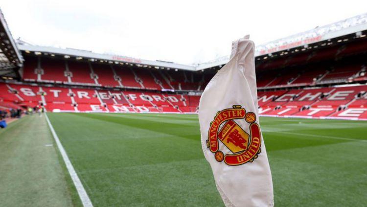 Bendera Manchester United. Copyright: © INDOSPORT