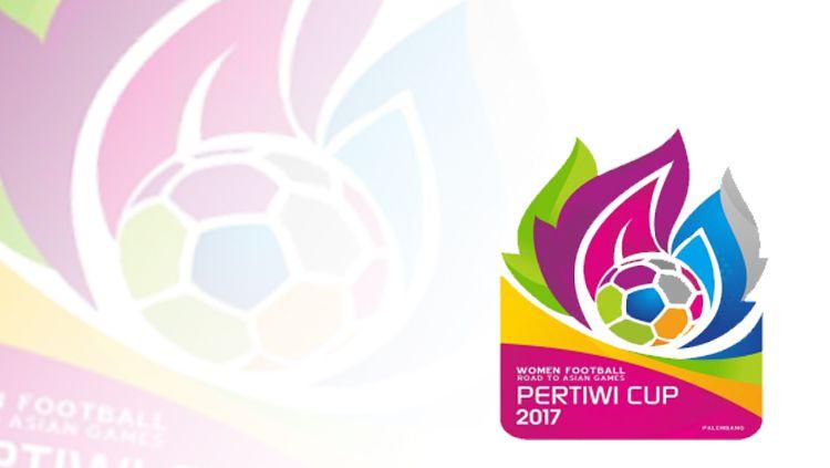 Logo Pertiwi Cup 2017. Copyright: © Grafis: Eli Suhaeli/INDOSPORT