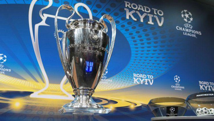 Trofi Liga Champions. Copyright: © UEFA
