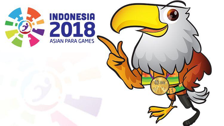 Momo, Maskot Asian Para Games 2018. Copyright: © INDOSPORT/http://ina2018apg.id