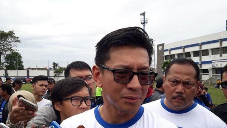 Direktur PT Persib Bandung Bermartabat (PT PBB), Teddy Tjahjono. Copyright: © Tribun Jabar/Ferdyan Adhy nugraha