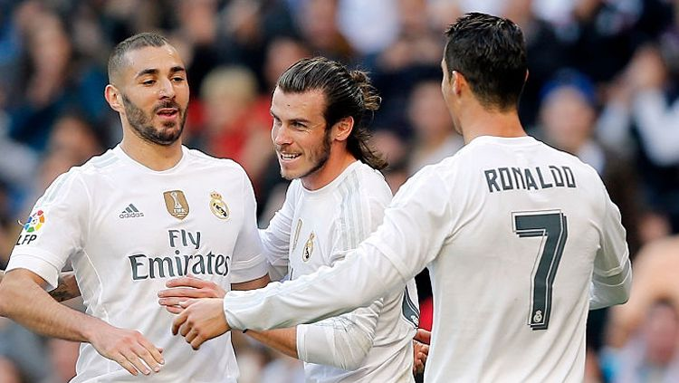 Barcelona patut menyesal gagal dapatkan senjata pamungkas Real Madrid, Karim Benzema, pada bursa transfer 2008 silam. Copyright: © INDOSPORT