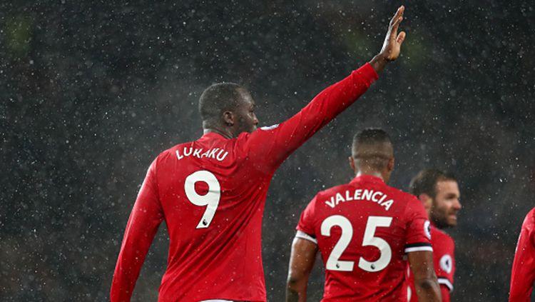 Romelu Lukaku, penyerang Manchester United. Copyright: © INDOSPORT