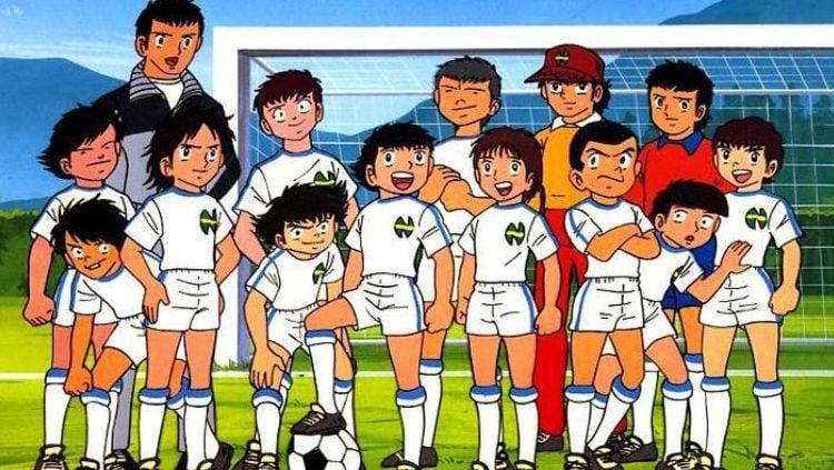 Serial kartun Captain Tsubasa. Copyright: © EIF Soccer