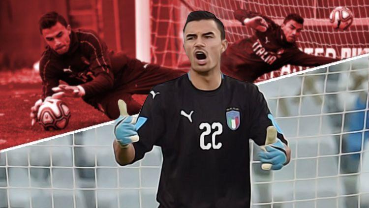 Kiper muda Juventus keturunan Indonesia, Mulyadi Emil Audero. Copyright: © Grafis: Eli Suhaeli/INDOSPORT