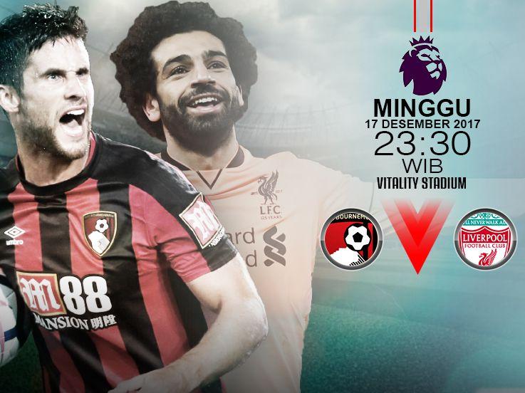 Prediksi Bournemouth vs Liverpool: Amankan Tiga Angka