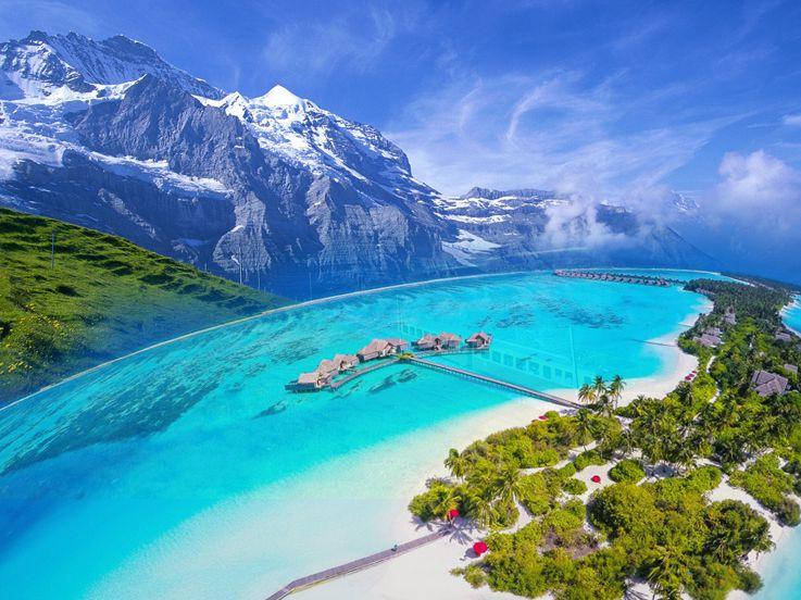 Dari Gunung Hingga Pantai, Berikut 5 Destinasi Wisata Favorit Para Pesepakbola Eropa