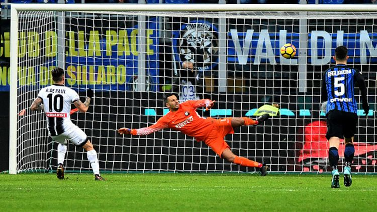 Inter Milan vs Udinese. Copyright: © INDOSPORT