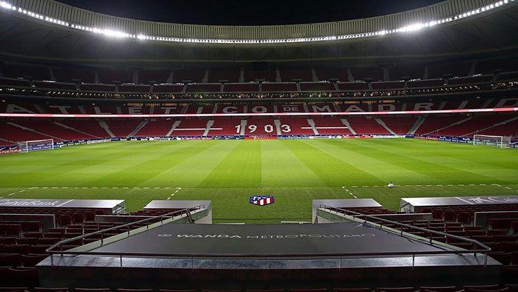 Stadion Wanda Metropolitano, markas Atletico Madrid. Copyright: © Atletico Madrid
