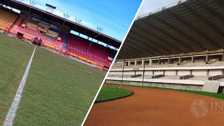 Stadion Barombong dan Andi Mattalatta. Copyright: © INDOSPORT