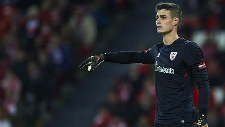 Kepa Arrizabalaga, saat Athletic Bilbao vs Real Madrid Copyright: © INDOSPORT
