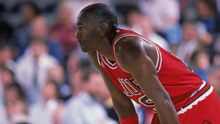 Michael Jordan, legenda Basket dunia. Copyright: © Getty Images