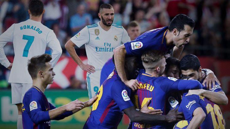 Real Madrid vs Barcelona Copyright: © Grafis:Yanto/Indosport.com