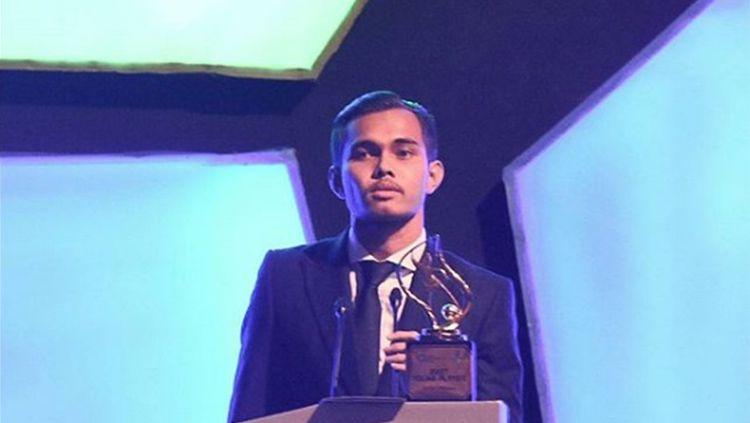 Rezaldi Hehanusa terpilih sebagai pemain muda terbaik Liga 1 2017. Copyright: © istimewa