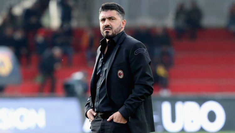 Gennaro Gattuso, saat melatih AC Milan Copyright: © INDOSPORT