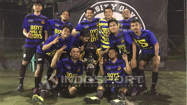 Viking Frontline juara Viking Cup 2017 Copyright: © Indosport/Arif Rahman