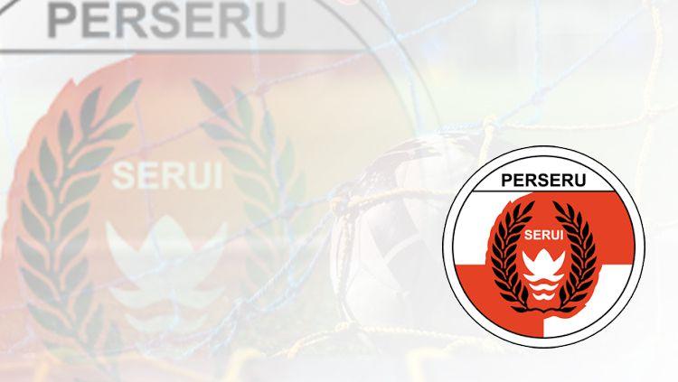 Logo Perseru Serui. Copyright: © Grafis: Eli Suhaeli/INDOSPORT