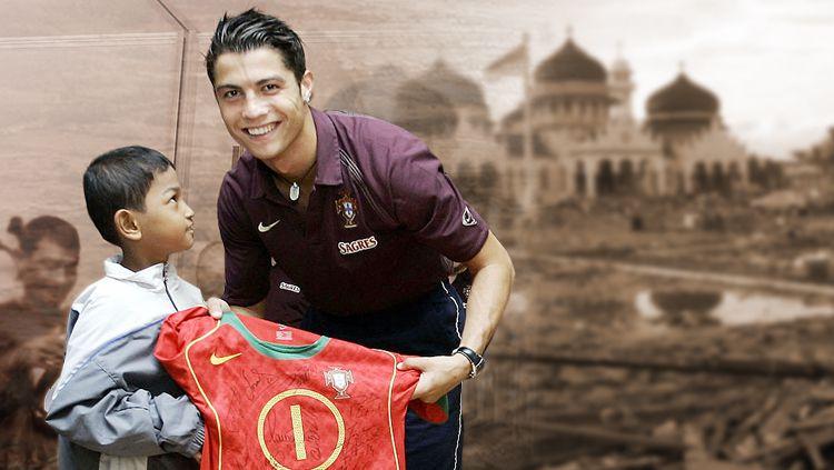 Seret Nama Martunis, Ini Momen Terbaik Cristiano Ronaldo selama Kariernya Copyright: © Grafis: Eli Suhaeli/INDOSPORT