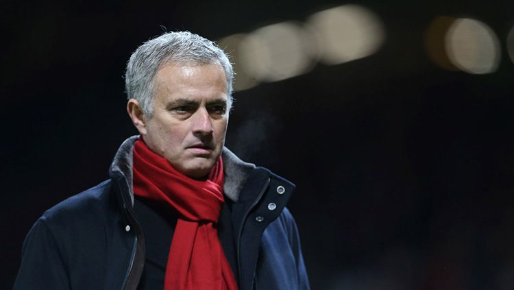 Pelatih Manchester United, Jose Mourinho. Copyright: © Man United